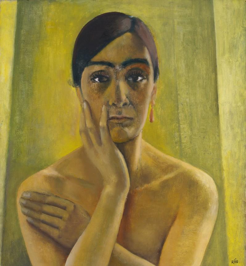 Anita Rée_Selbstbildnis_1930